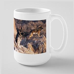 german shepherd group Mugs