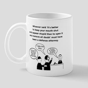 I take the fifth! Mug