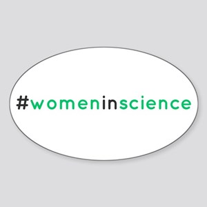Hashtag women in science Sticker