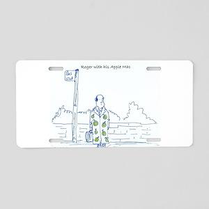 Roger Aluminum License Plate