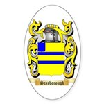 Scarborough Sticker (Oval)