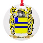Scarboro Round Ornament