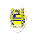 Scarboro 20x12 Oval Wall Decal