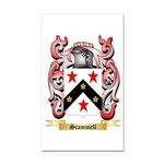 Scammell Rectangle Car Magnet