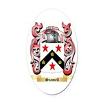 Scamell Oval Car Magnet