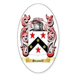 Scamell Sticker (Oval)