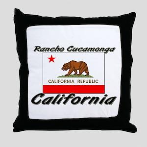 Rancho Cucamonga California Throw Pillow