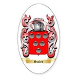 Scales Sticker (Oval 50 pk)