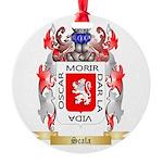 Scala Round Ornament