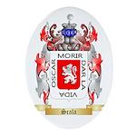 Scala Oval Ornament