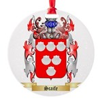 Scaife Round Ornament