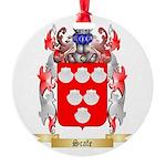 Scafe Round Ornament