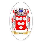 Scafe Sticker (Oval 50 pk)