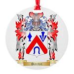 Saxton Round Ornament