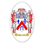 Saxton Sticker (Oval 50 pk)