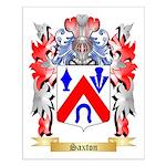 Saxton Small Poster