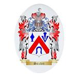 Saxton Oval Ornament