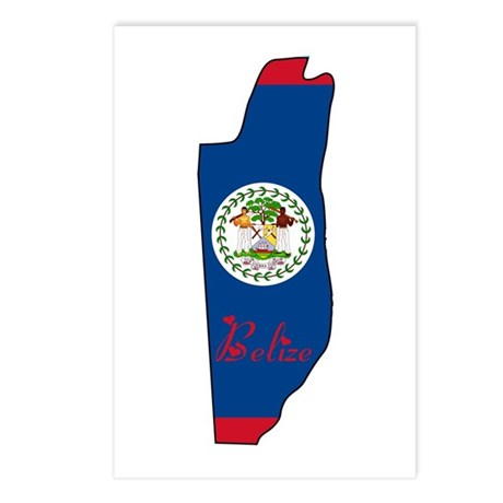 Cool Belize Postcards (Package of 8)