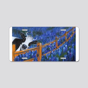 Spring has Sprung Aluminum License Plate