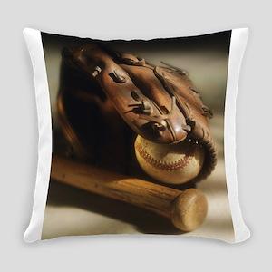baseball glove Everyday Pillow