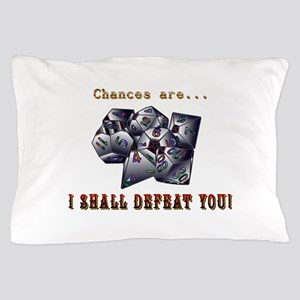 RPG, D&D, Gamer Dice Pillow Case