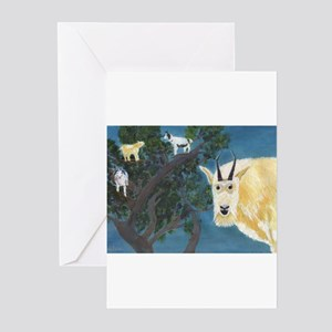 Goats Greeting Cards