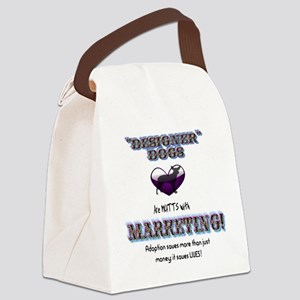 Designer Mutts shelter pound Canvas Lunch Bag