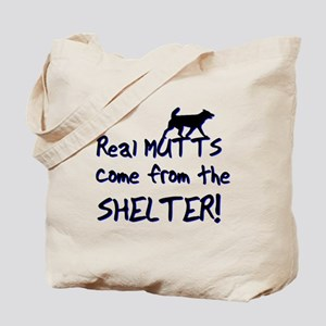 Real Mutts, shelter, pound, Tote Bag