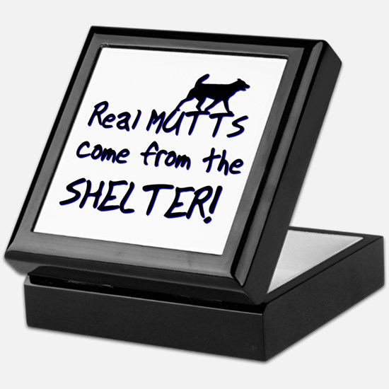 Real Mutts, shelter, pound, Keepsake Box