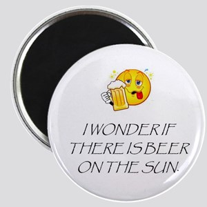 Beer on the Sun Magnet