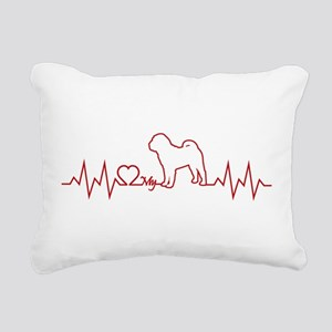 CHINESE SHAR-PEI Rectangular Canvas Pillow