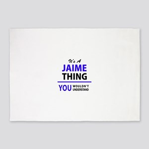 JAIME thing, you wouldn't understan 5'x7'Area Rug