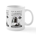 Reading Crusader Streamliner Mug