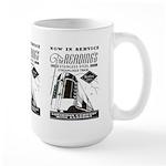 Reading Crusader Streamliner Large Mug