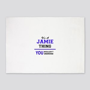 JAMIE thing, you wouldn't understan 5'x7'Area Rug