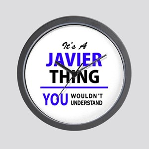 JAVIER thing, you wouldn't understand! Wall Clock