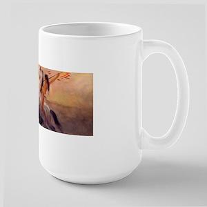 Buffalo Hunt Large Mug