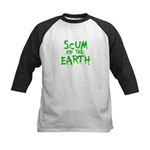scum of the earth Kids Baseball Jersey
