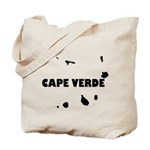 Cape Verde Islands Blk Tote Bag