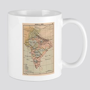 Vintage Map of India (1823) Mugs