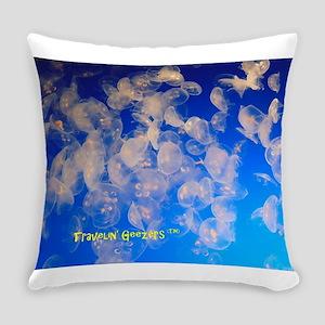 Jellyfish Everyday Pillow