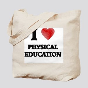 I Love Physical Education Tote Bag