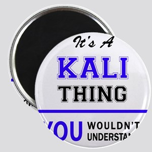 KALI thing, you wouldn't understand! Magnets