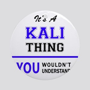 KALI thing, you wouldn't understand Round Ornament