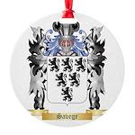 Savege Round Ornament