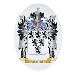 Savege Oval Ornament