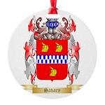 Savary Round Ornament