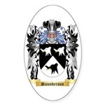 Saunderson Sticker (Oval)