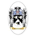 Saunderson Sticker (Oval 50 pk)