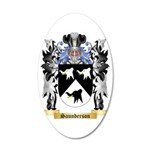 Saunderson 35x21 Oval Wall Decal